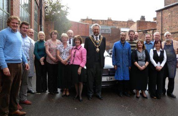 Deakin & Francis welcome the Lord Mayor of Birmingham