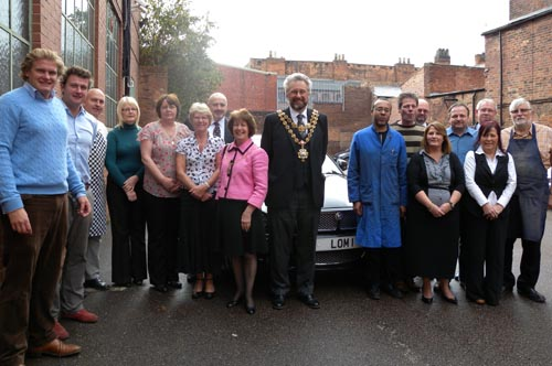 The Lord Mayor and Lady Mayoress of Birmingham visit D&F