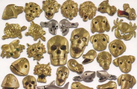 Deakin & Francis extend their skull cufflink range