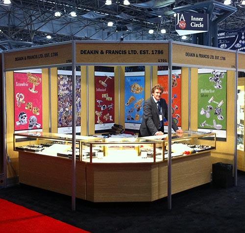 Deakin & Francis Cufflinks at JA NY