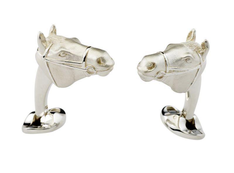 Horse's Head Cufflinks