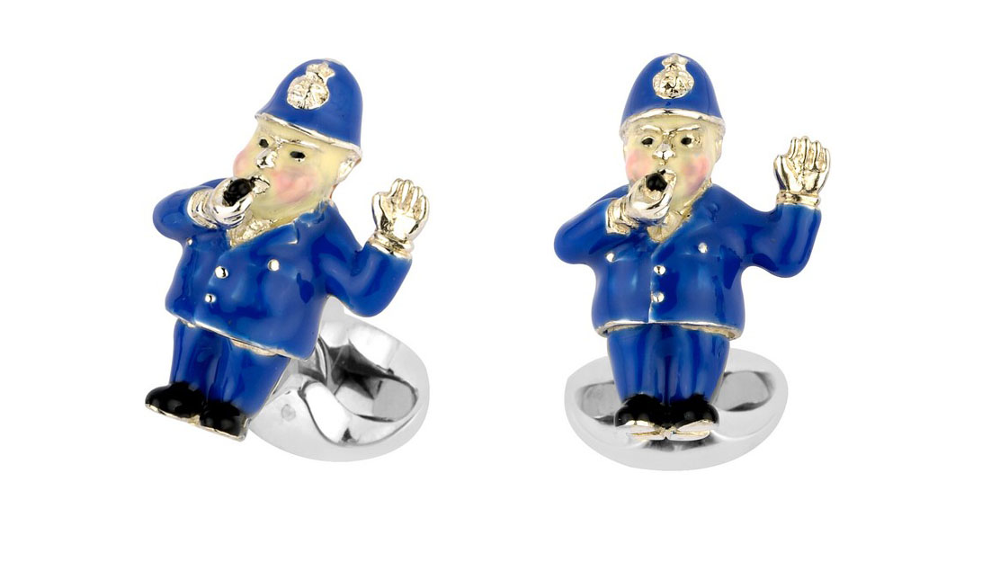 Policeman Cufflinks