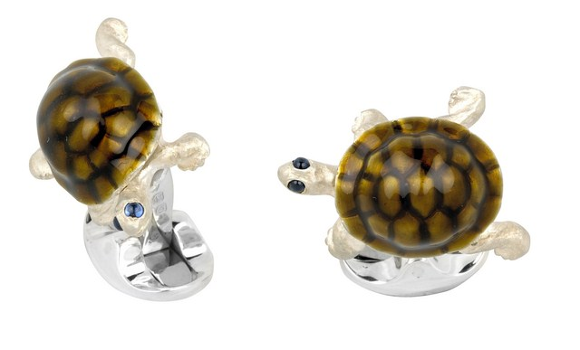 Walking Tortoise Cufflinks