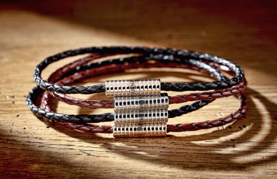 Unisex Bracelets: Metal or Leather?
