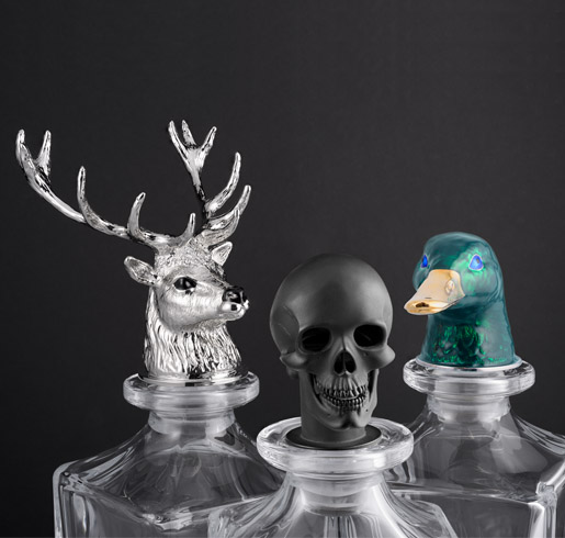 Collection of Deakin and Francis Decanters
