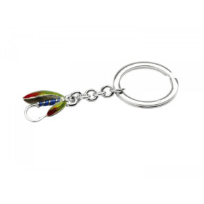 Sterling Silver Fishing Fly Keyring