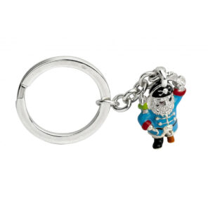 Sterling Silver Pirate Keyring