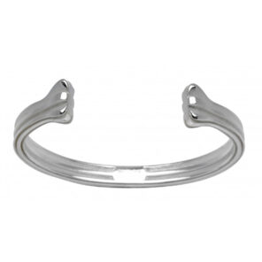Sterling Silver Union Jack Bangle