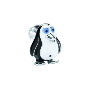 Sterling Silver Penguin Lapel Pin