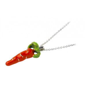 Sterling Silver Carrot Pendant