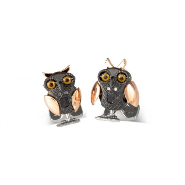 Moving Owl Cufflinks