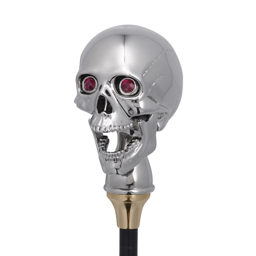 Luxury Skull Corkscrew In Silver Finish