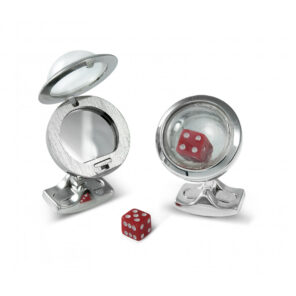 Bubble Locket Cufflinks