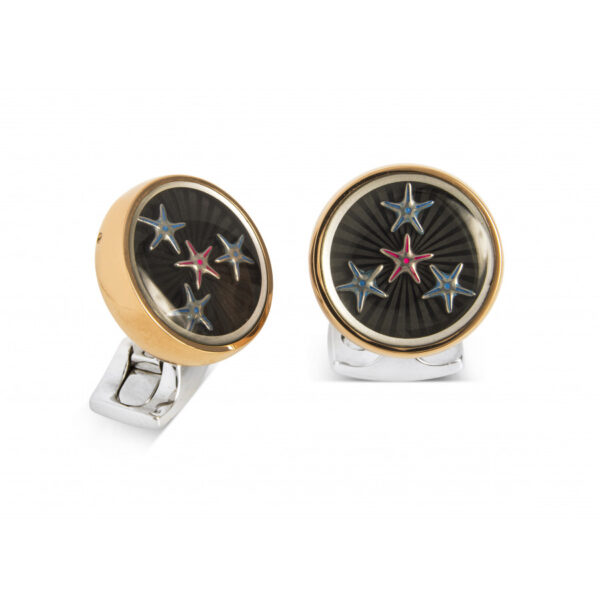 Dancing Starfish Cufflinks