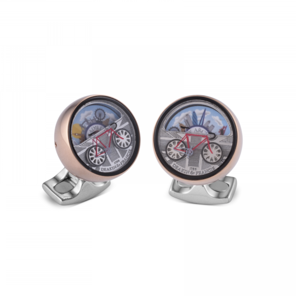 London Moving Scene Cufflinks