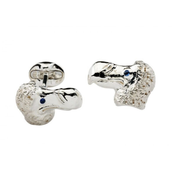 Sterling Silver DoDo Cufflinks