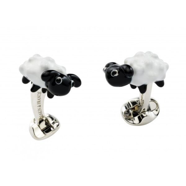 Sterling Silver Sheep Cufflinks