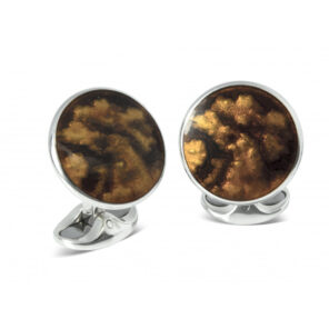 Copper Winter Haze Cufflinks