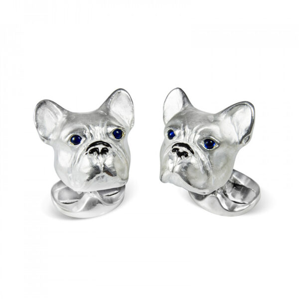 French bulldog cufflinks