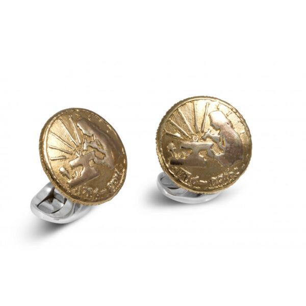 Sterling Silver 230 Coin Cufflinks - Jeweller