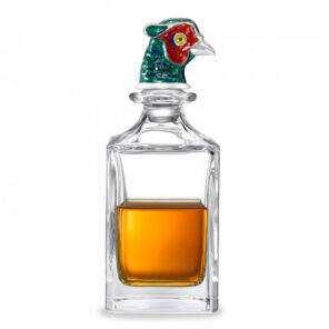 Pheasant Head Crystal Decanter