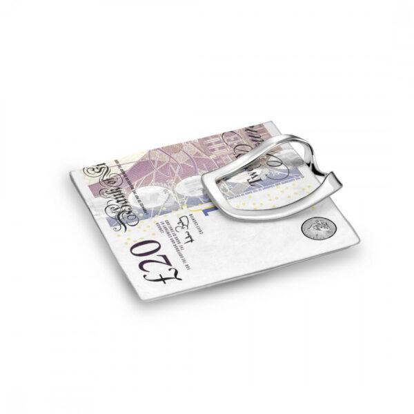 Sterling Silver Saddle Money Clip