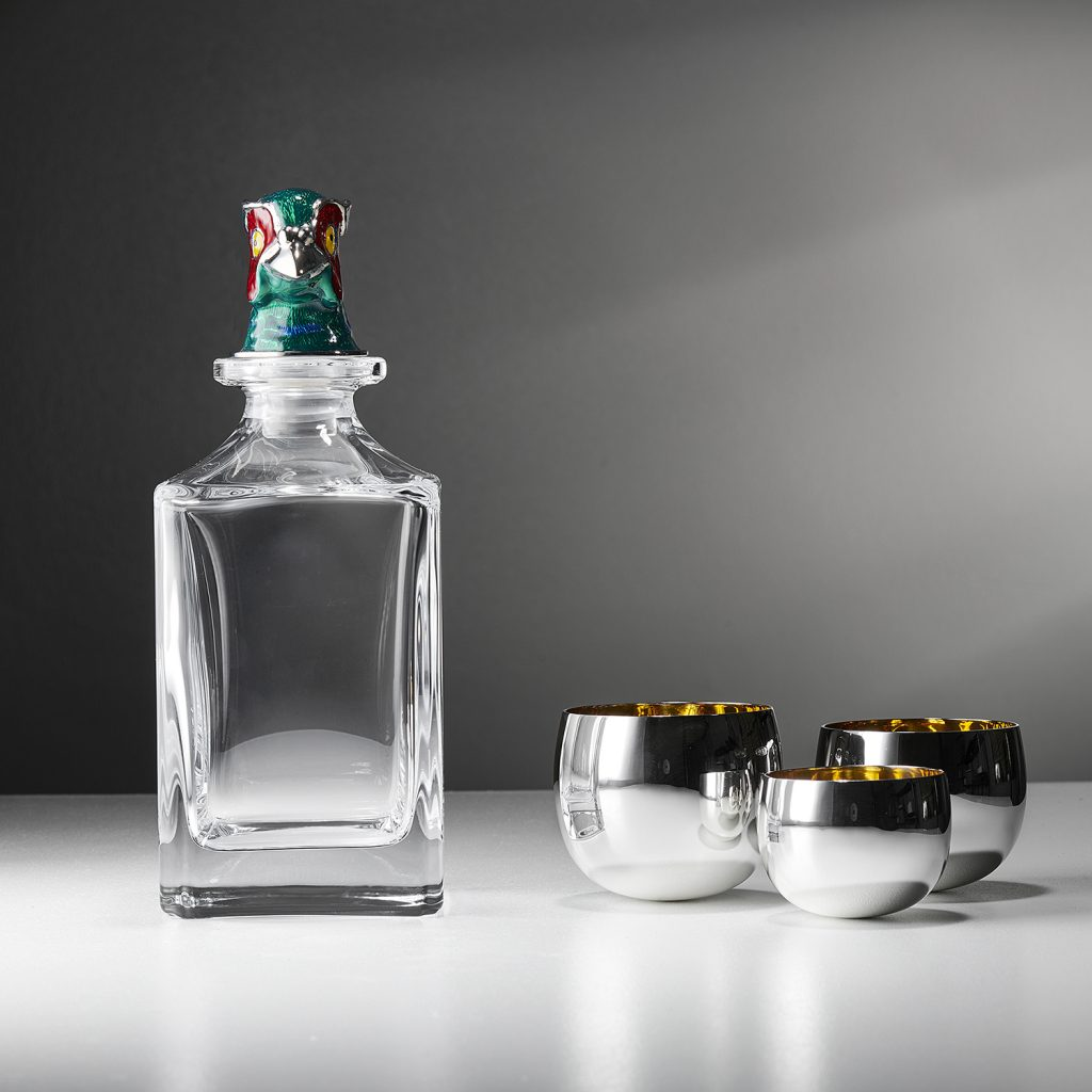 Pheasant Head Decanter available at Deakin and Francis
