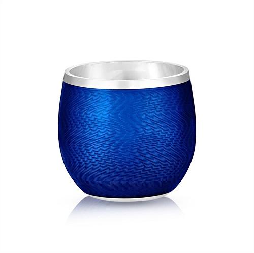 Fabergé Blue Enamel Shot Glass