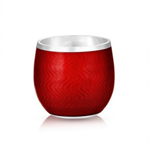 Fabergé Red Enamel Shot Glass