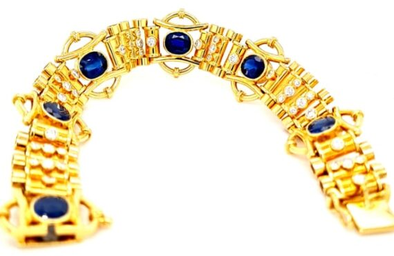One Of A Kind – 18ct Gold Ladies' Bracelet