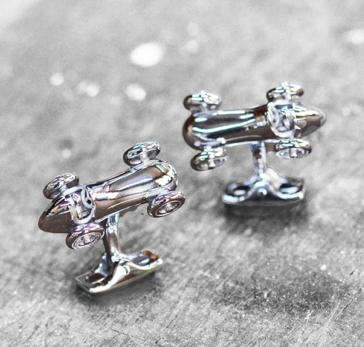 Vintage Race Car Cufflinks